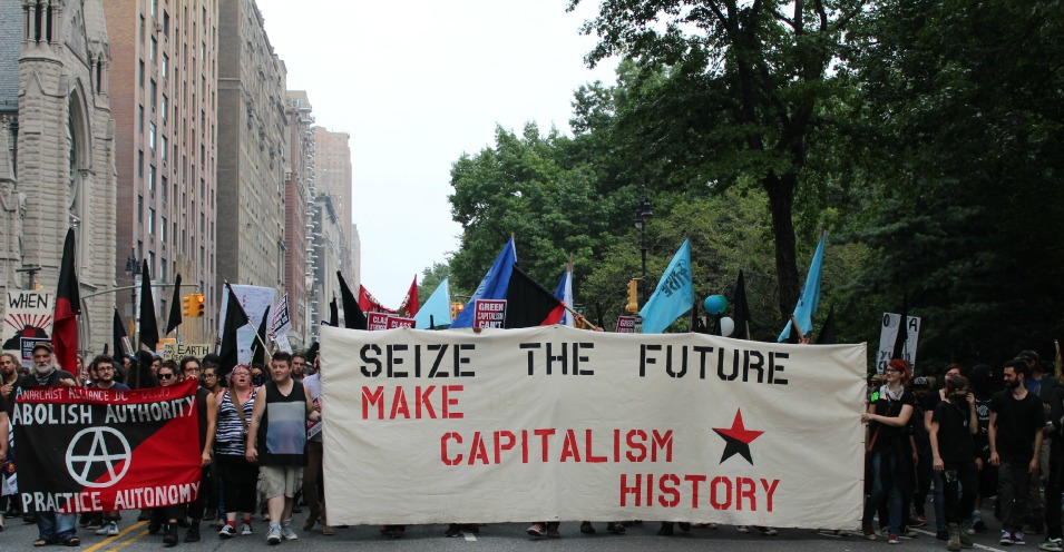 """Seize the Future: Make Capitalism History"" (Common Dreams: CC BY-SA 3.0 US)"