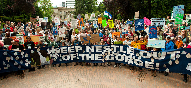 Photo: Keep Nestle Out of the Gorge