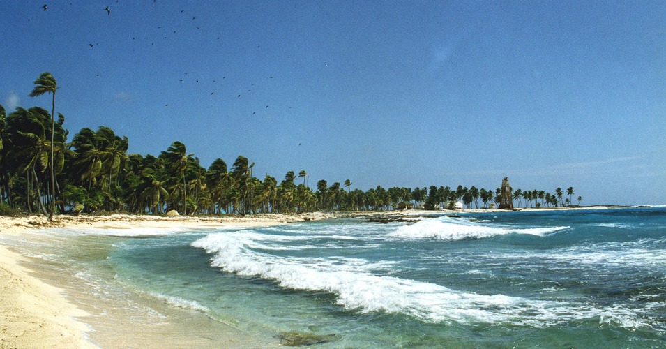 Half Moon Caye Natural Monument in Belize. (Photo: anoldent/Wikimedia/cc)