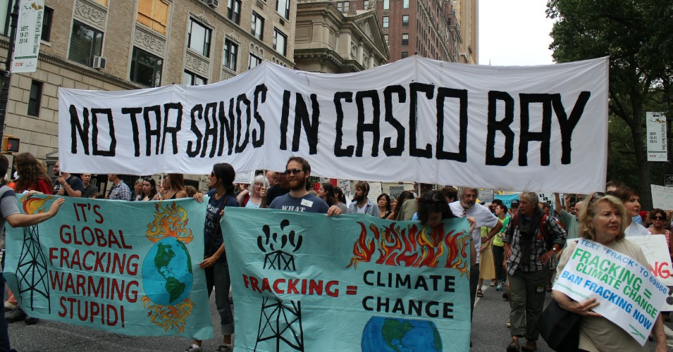 """No Tar Sands in Casco Bay"" (Common Dreams: CC BY-SA 3.0 US)"