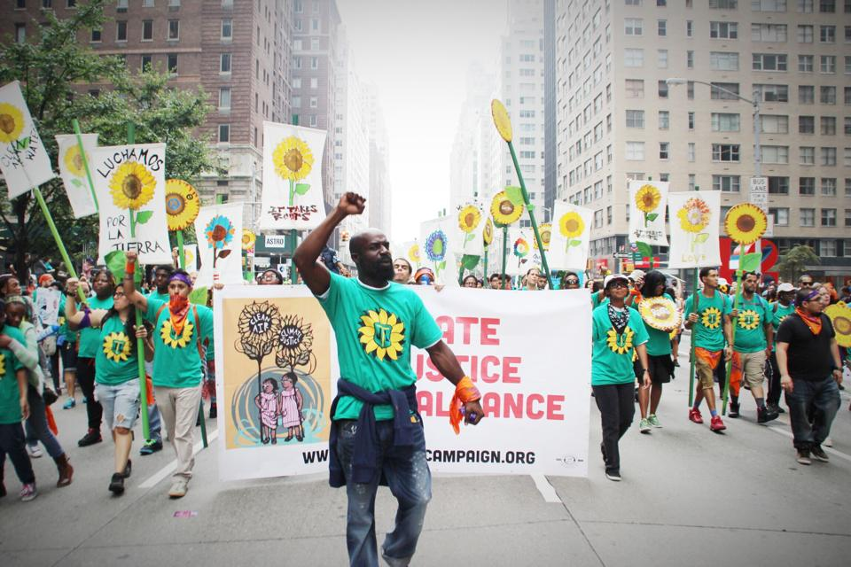 The Climate Justice Alliance Marches September 21, 2014. (Photo: Rae Louise Breaux)