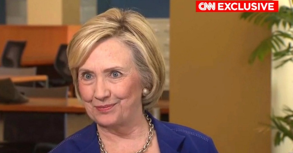 "Hillary Clinton told CNN's Chris Cuomo on Thursday that she believes the nomination has already been decided. ""I will be the nominee for my party,"" Clinton said. ""That is already done, in effect. There is no way that I won't be."" (Photo: Screenshot/CNN)"