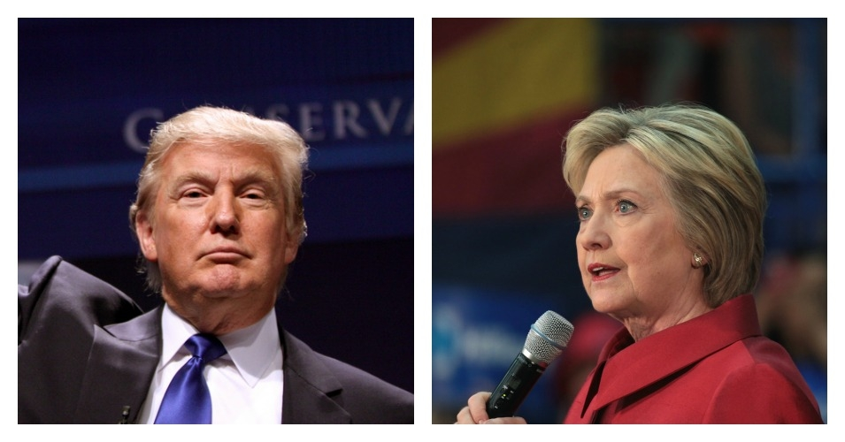 Clinton now leads Trump nationally 48 to 45 percent. (Composite: Gage Skidmore/Gage Skidmore/flickr/cc)