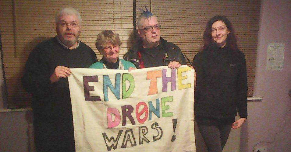 With Call to 'End the Drone Wars,' Activists Cut Their Way into UK Air Force Base