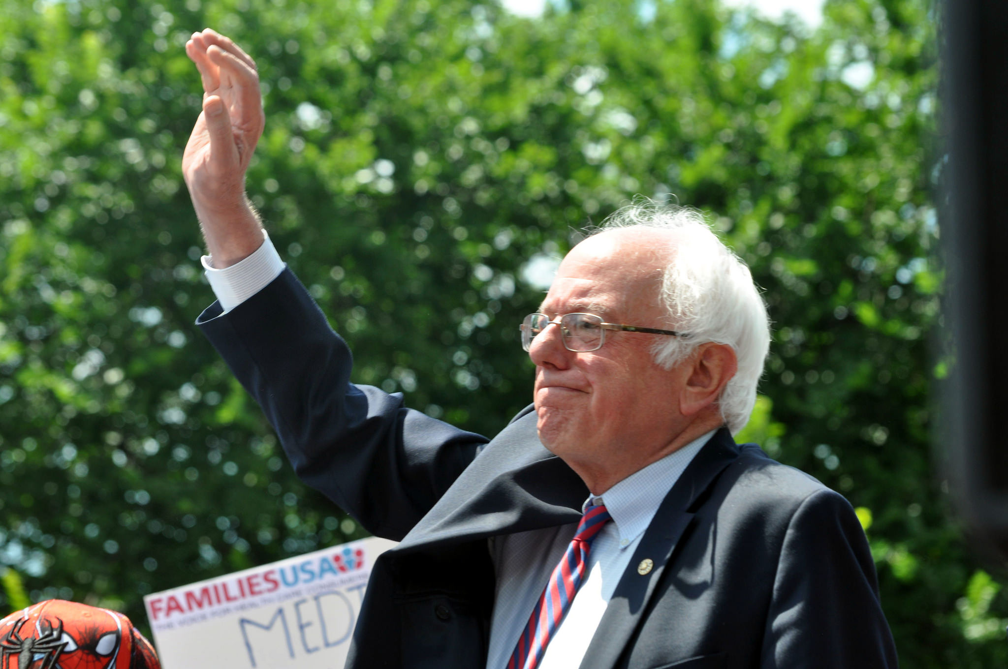 vermont senator bernie sanders and free tuition for students to attend state colleges