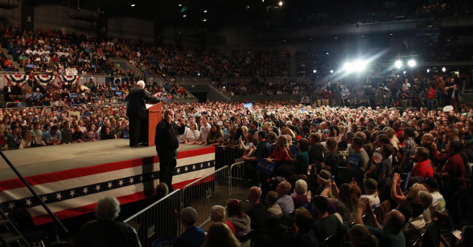 Thousands Turn Out For Political Revolution Rally In