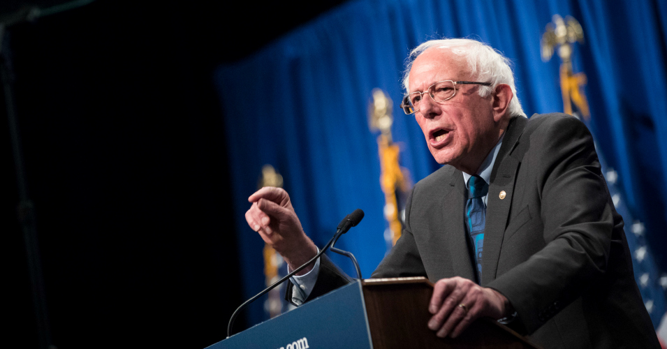 For Not Mentioning Climate Crisis or Soaring Inequality, Sanders Calls Trump 'Man Living in Parallel Universe' Who 'Must Be Defeated'