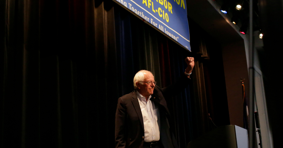 After Decades of Corporate 'Decimation' of Unions, Sanders Says It Is Time for Workers to Win the Class War