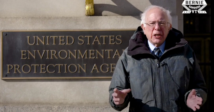 Bernie Sanders: As World Faces Climate Crisis, 95% of EPA Workers Furloughed During Trump Shutdown—'How Insane Is That?'
