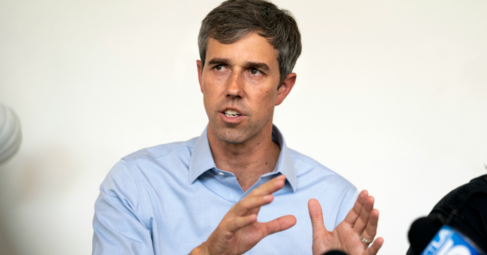"""Beto Says He Has """"No Fears"""" About Bernie's Fitness For"""