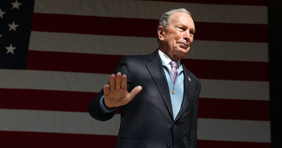 'The Democratic Party Has a Problem': Bloomberg Hires Super Tuesday State Democratic Vice Chairs