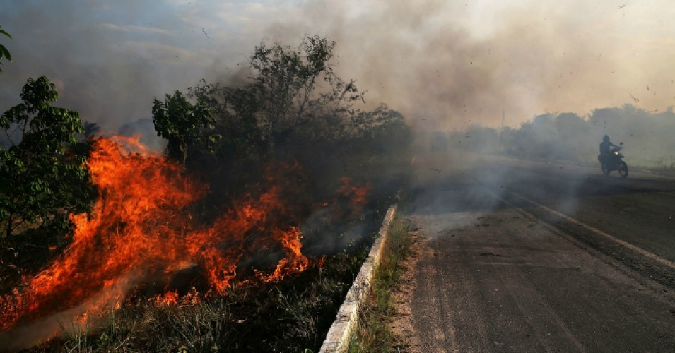 Brazil's Bolsonaro—Outspoken Proponent of Deforestation—Denounced as 'Sick' and 'Pathetic' for Blaming Amazon Forest Fires on NGOs