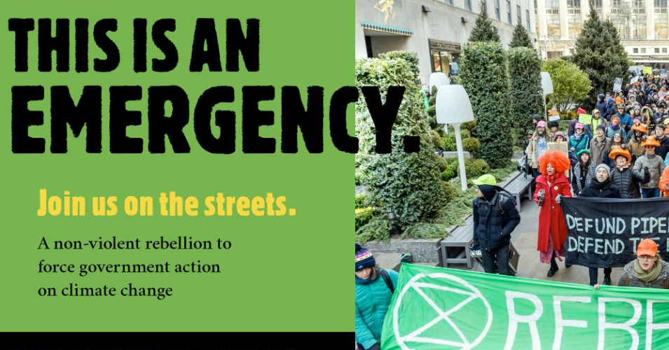 'This Is a Climate Emergency': To Disrupt 'Criminal ...