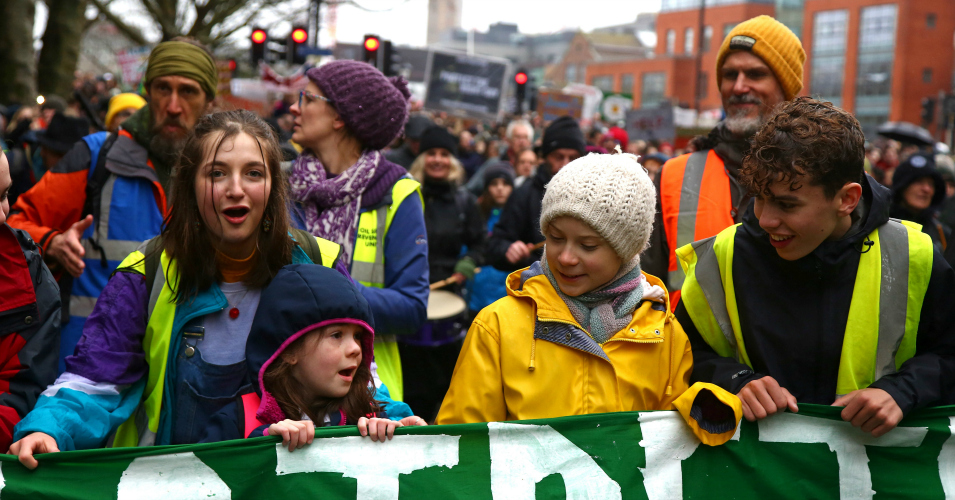 'World Leaders Are Behaving Like Children,' Greta Thunberg Tells Thousands of Bristol Strikers in Call for More Climate Activism
