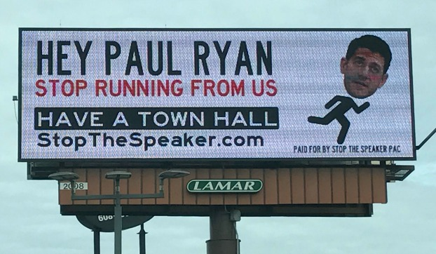As Ryan Dodges Constituents (on Horseback), Voters Demand to Be Heard
