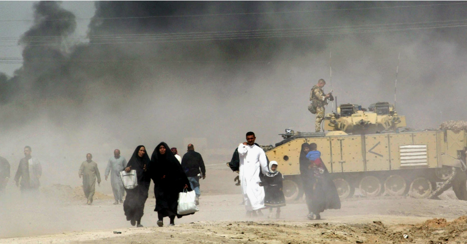 was the war in iraq justified essay Term papers, can war be justified home » essay » can war be justified so most would say that the war on afghanistan and iraq are justified.