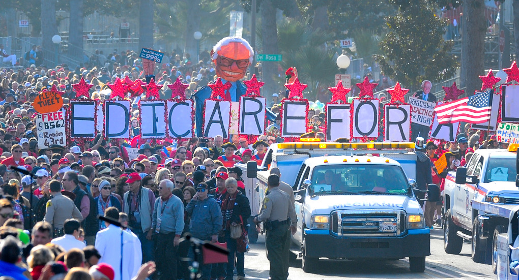 A New Year's Day Parade for 'Medicare for All' Signals ...