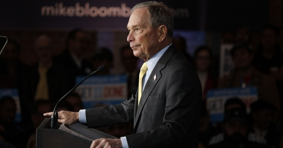 After 'Former GOP Oligarch' Bloomberg Airs Ad Criticizing Online Vulgarity, Progressives Point to Former Mayor's Long Record of Bigotry
