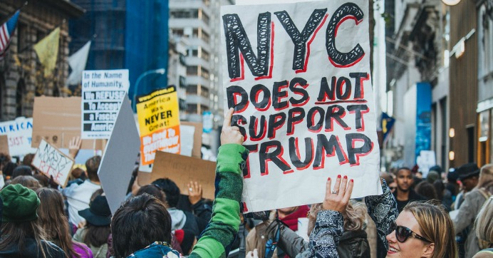 New Yorkers Plan to 'Drown Out' Trump with Protest During First Presidential Visit