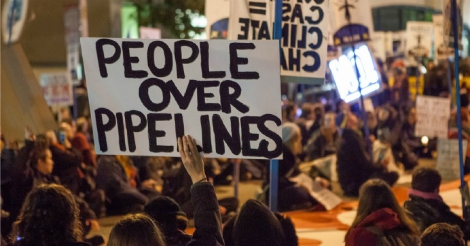 Huge 'People Over Pipeline' Victory as TransCanada Forced to Kill Energy East