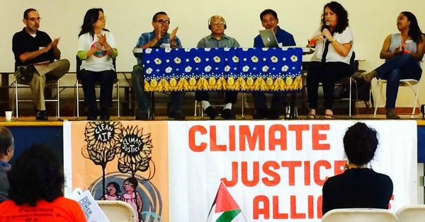 From 'Front-Lines of Climate Crisis,' Gathering Calls for New Economy