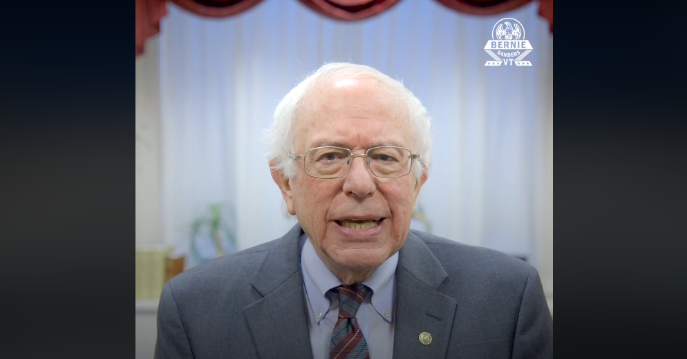 WATCH: While Trump 'Sadly and Pathetically' Denies Climate Crisis, Sanders 'Proud' to Co-Sponsor Green New Deal