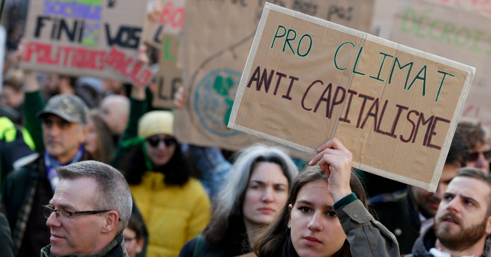 To Save Humanity and Planet, Says Climate Activist, 'We Must Go Straight to the Heart of Capitalism and Overthrow It'