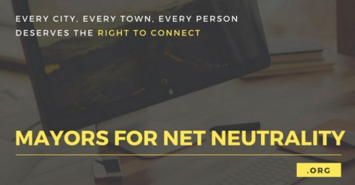 """11 Mayors Applauded for Refusing to Do Business With Companies That Don't Support Net Neutrality: """"Town by town, city by city, local leaders are taking back everyone's right to connect and communicate."""""""