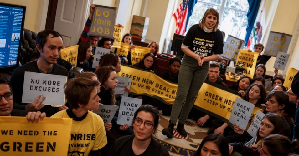 New Analysis Shows Push for Green New Deal Hindered by Silence of Corporate Media