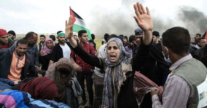 As Gaza Protests Resume, Urgent Call for Israeli Soldiers to Disobey 'Patently Illegal' Orders to Shoot Unarmed Demonstrators
