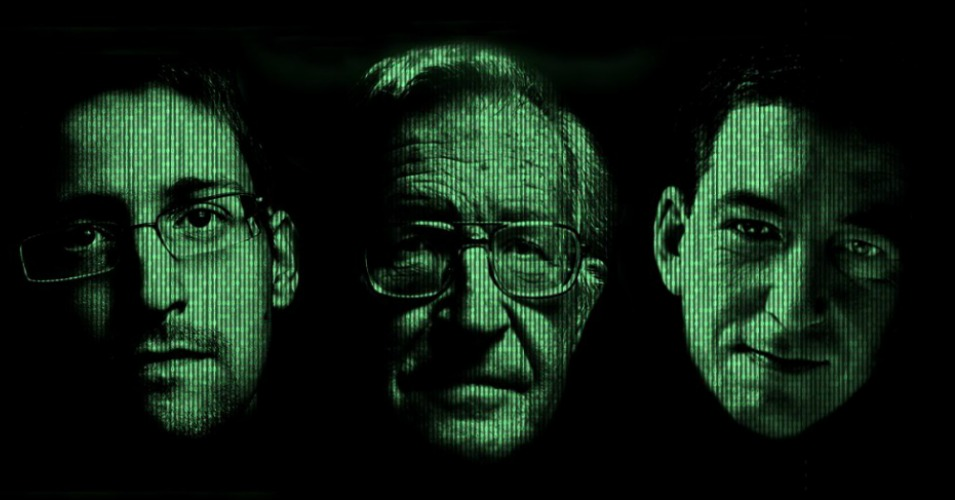 Chomsky, Snowden, Greenwald on Privacy in the Age of Surveillance
