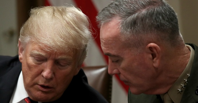 Trump to Be Presented With Options to Attack Iran: Reports