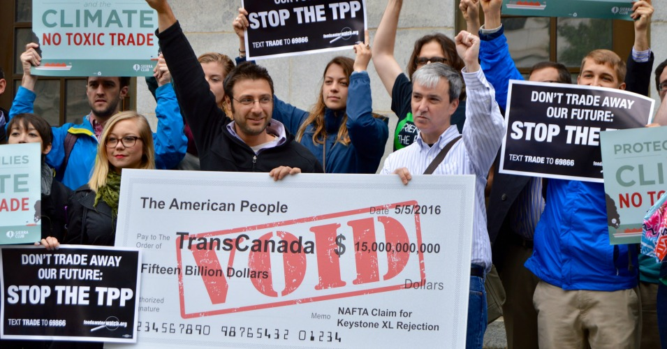 groups to transcanada  take this  15 billion voided check