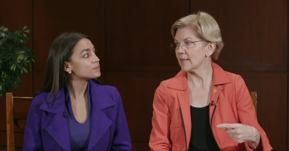 Ocasio-Cortez and Warren Have Some Tough Questions for Mnuchin About the Collapse of Sears