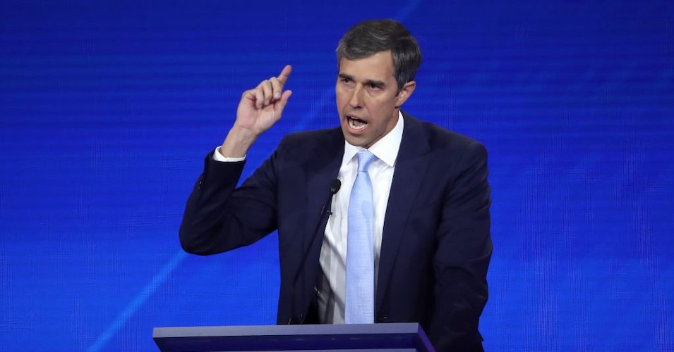 """Despite GOP Death Threat, Beto Doubles Down on """"We're Going to Take"""