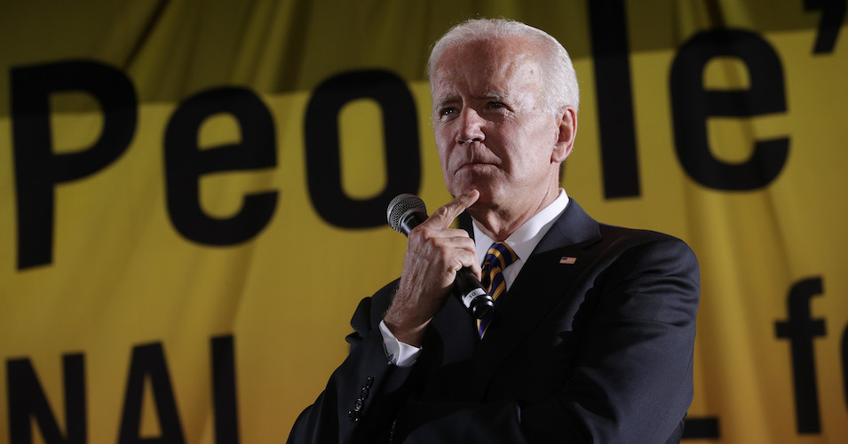 Straight to Wall Street Fundraiser After Leaving Poor People's Forum, Biden Tells Fat Cat Donors: 'You Guys Are Great'