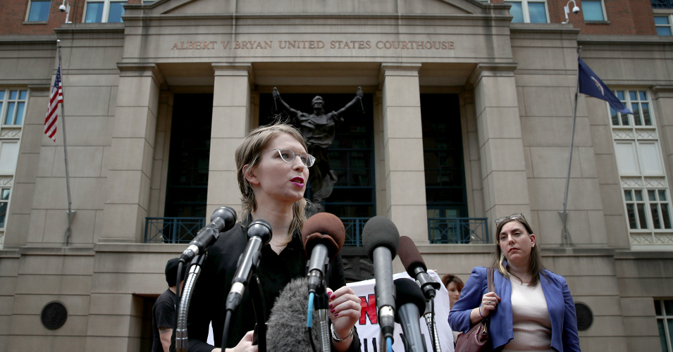'This Is Unprecedented': Judge Orders Chelsea Manning Jailed, Imposes Daily $500 Fine After 30 Days Behind Bars
