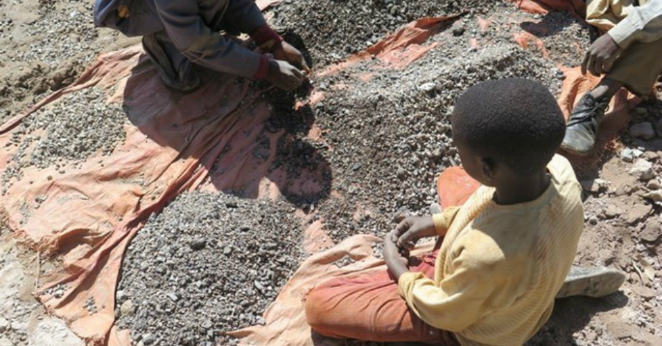 Children Mining To Support Electric Cars