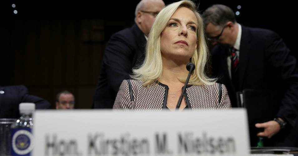 Homeland Security Secretary Kirstjen Nielsen arrives for a hearing held by the Senate Judiciary Committee Jan. 16, 2018 in Washington, D.C. (Photo: Win McNamee/Getty Images)