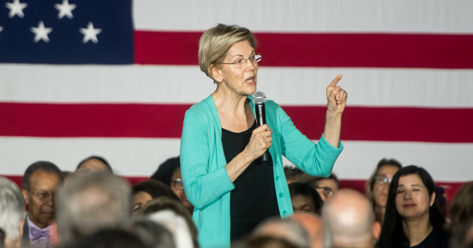 Calling Out Trump's Refusal to Hold Big Banks Accountable, Warren
