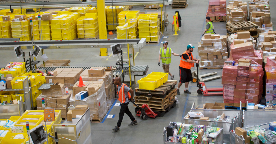 'Peak Amazon' as Robot Sets Off Bear Spray, Sending 24 Fulfillment Center Workers to Hospital