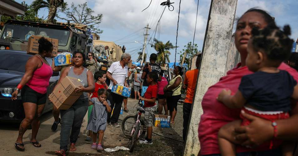 Researchers Tie Climate Crisis to Hurricane Maria's Record-Breaking Rainfall Over Puerto Rico