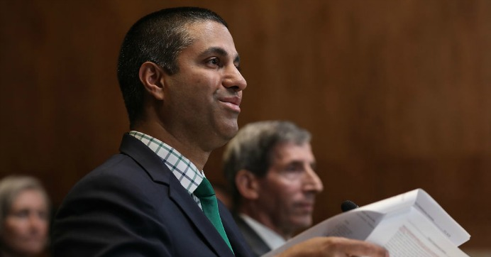 'Complete Joke': Democrats Ripped for Totally Failing to Grill FCC Chair Ajit Pai Over Net Neutrality Cyberattack Lies