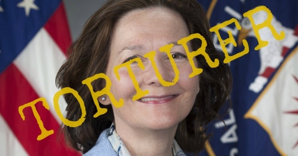 "Though ""Too Late"" Now, Cables From Secret CIA Black Site Read Like Gina Haspel's ""Torture Journaling"""