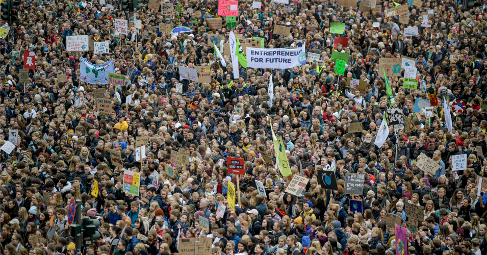 In Pictures and Video: What 'Biggest Day of Climate Action in Planetary History' Looks Like as Millions Strike Worldwide