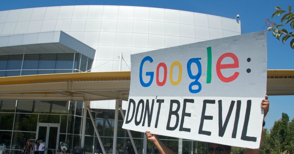 More Cracks in Google's 'Don't Be Evil' Mantra as Data Collection