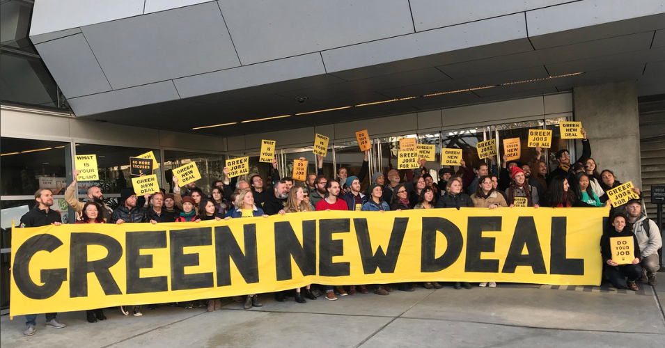 'We Need an Unprecedented Transformation in Every Sector': 250 Climate Activists Stage Sit-in at Pelosi's San Francisco Office