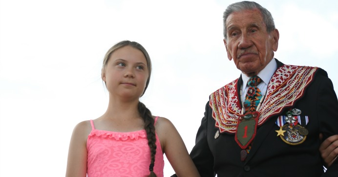 """Bestowed With """"Freedom Prize,"""" Greta Thunberg Holds Up D-Day"""