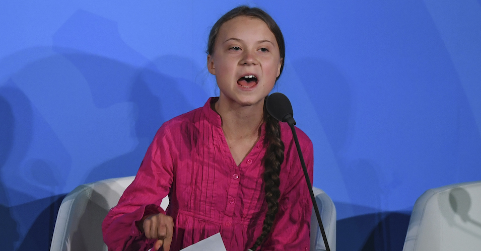 Highlighting Number of Years Left to Save Earth, Greta Thunberg Joins
