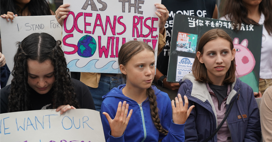 To Critics Who Say Climate Action Is 'Too Expensive,' Greta Thunberg Responds: 'If We Can Save the Banks, We Can Save the World'